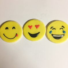 Emoji cookies. Heart eyes emoji cookies. Crying laughing emoji cookies