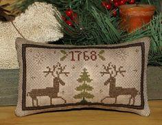 Christmas Freebie: Cross Stitch Deer
