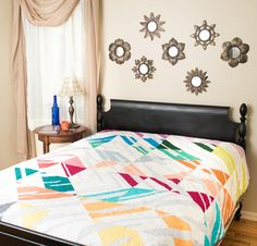Robert Kaufman Percolate Quilt Kit - White