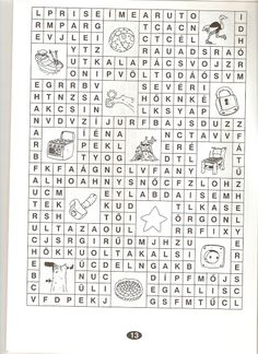 Zsuzsi tanitoneni - Google+ Dysgraphia, Literature, Language, Printables, Sign, Education, Reading, Activities, Crossword Puzzles