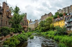 Is a visit to the Dean Village in Edinburgh worth it? Look at this photo tour of Dean Village to decide if a visit here is worth your time.
