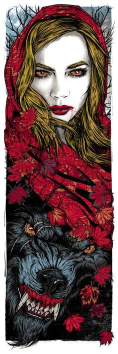 'Red Riding Hood' by Rhys Cooper
