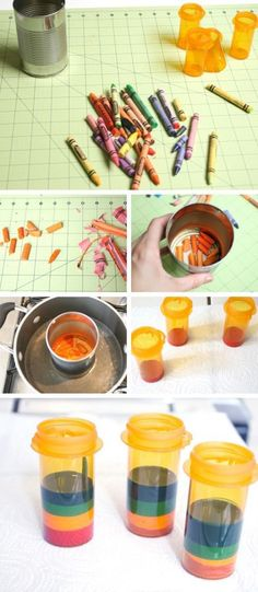DIY Pill Bottle Projects with Kids |  How To Reuse Pill Bottles - Genius DIY Ideas For Survival, Home Decor And Crafts by DIY Ready at   http://diyready.com/15-awesome-diy-uses-for-pill-bottles/