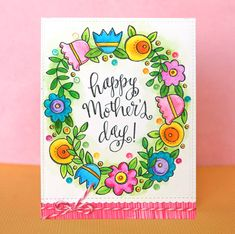 Suzy Plantamura featuring the new Simon Says Stamp Mothers Fathers Florals release! Mothers Day Cards Craft, Diy Gifts For Mothers, Happy Mothers Day, Mother's Day Greeting Cards, Greeting Cards Handmade, Happy Birthday Doodles, Mothers Day Drawings, Mother's Day Background, Bday Cards