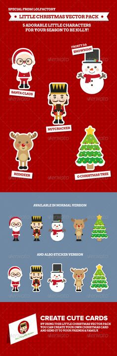 Little Christmas - Character Vector Pack