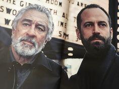 Robert De Niro and Benjamin Millepied - New 2017 Campaign for Ermenegildo Zegna
