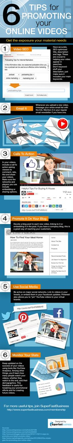6 Tips for Promoting Your Online Videos