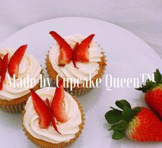 Vanilla strawberries