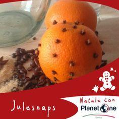 Lo Julesnaps, conosciuto anche come Akvavit o Brændevin, è bevanda alcolica tipica del Natale danese a base di Snaps (o vodka), arancia , chiodi di garofano e chicchi di caffè richiede una preparazione leggermente laboriosa ma molto divertente anche per i più piccoli.