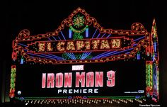 Iron Man 3 Hollywood Red Carpet Premiere at the El Capitan Theatre!