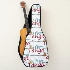 Buenos Aires Tango Made in Argentina Guitar Case - home decor design art diy cyo custom