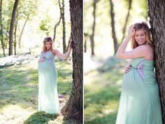Twins maternity photos