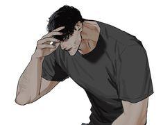 Anime Dad, Evil Anime, Dark Anime Guys, Cute Anime Boy, Character Art, Character Design, Animated Man, Aesthetic Grunge Outfit, Cartoon Man