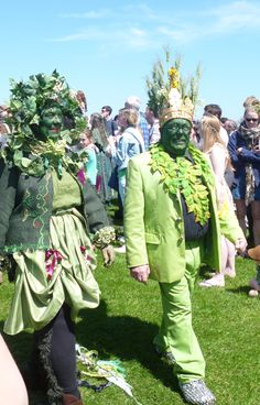 Jack in the Green procession 2013 South East England, East Sussex, Green Man, Seaside, In This Moment, Image, Beautiful, Beach, Coast