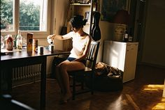 une dejeuneuse solitaire ++ sculpture of marmalade.
