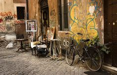 trastevere- Rome visit Rome with italydestination.com
