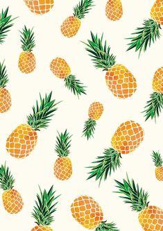 Cute Pineapple Wallpaper, Pineapple Backgrounds, Tropical Wallpaper, Pastel Wallpaper, Cute Wallpaper Backgrounds, Pineapple Art, Summer Backgrounds, Beautiful Wallpaper, Homescreen Wallpaper