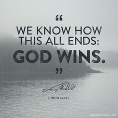 No matter what, I will be with Him