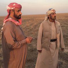 Ahmed Bin Rashid Bin Saeed Al Maktoum y su tío, Ahmed Bin Saeed Bin Maktoum Al Maktoum, Uzbekistán, 10/2016. Vía: essareem