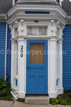 Colourful Doorways Of Lunenburg Nova Scotia Find This Pin And More On East Coast Doors
