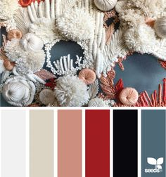 today's inspiration image for { color stich } is by thank you, Helen, for another amazing share! Hue Color, Colour Pallete, Colour Schemes, Color Palettes, Colour Combinations, Color Pick, Design Seeds, Colour Board, Stitch Design