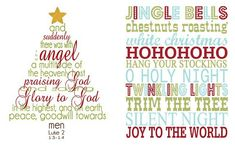Free Christmas Printables of all types: gift tags, art, free christmas cards, party printables, etc.