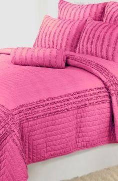 Think pink, sleep pink - 'Cloud' Quilt