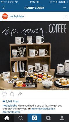 Coffee corner idea