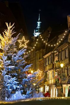 Christmas in Alsace, France
