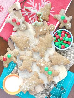 Gingerbread Cut-Out Cookies | The Breakfast Drama Queen