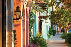 The most colorful cities in the world.   Charleston, South Carolina