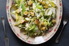Green apple, fennel and witloof salad – Recipes – Bite