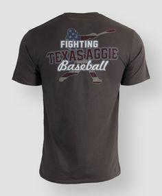 Fighting Texas Aggie baseball t-shirt #AggieGifts #AggieStyle