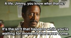 Lester Freamon is a wise man.  Click through to watch the scene.