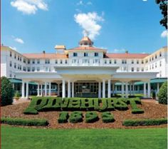 Pinehurst Resort, NC    home of the best golf courses in North Carolina, also check out CCNC