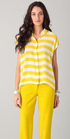 Ohhh Stripes :)   Equipment makes the best blouses..click photo to view product