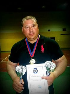 George Charalampopoulos the champion