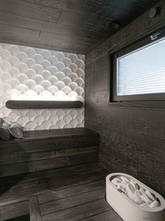 Asuntomessujen 2020 saunanostot ja saunatrendit – Saunologia.fi Bathroom Styling, Scandinavian Style, Alcove, Bathtub, Standing Bath, Bathtubs, Bath, Bath Tub, Tub