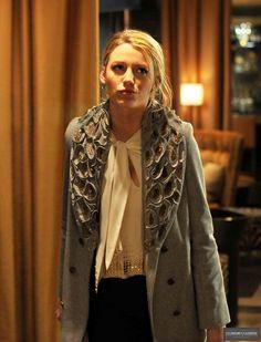 Serena van Der woodsen (Blake Lively)'s winter style / Gossip Girl