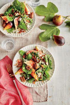 September 2016 Recipes: Fig-and-Kale Salad