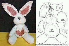 coelho-tecido