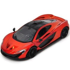 McLaren P1 Orange 1/24 by Motormax 79325 - Diecast Model Cars