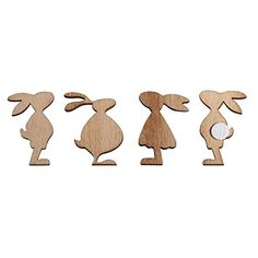 Easter Projects, Easter Crafts, Diy Wood Projects, Wood Crafts, Baby Birthday Decorations, Animal Templates, Wooden Pattern, Wood Animal, Diy Ostern