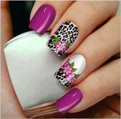 Color Uva, Paul Design, Nail Ideas, Acrylic Nails, Make Up, Nail Art, Purple, My Style, Summer