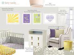 grey and purple nursery - Google Search