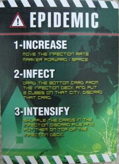 Epidemic Card from Pandemic. A great cooperative game that works for 2+ players and has different set up and difficulty options for variation in gameplay. This is a good review of the game