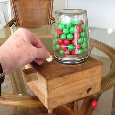 how to make a gumball machine in shop class