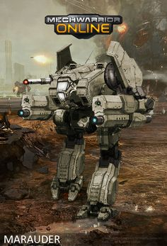 Edit done: new mech made by using parts of several MWO mechs.