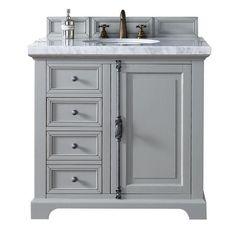 "James Martin Furniture Providence 36"" Single Bathroom Vanity Base Base Finish: Urban Gray"