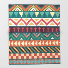 Southwestern Pattern Throw Blanket